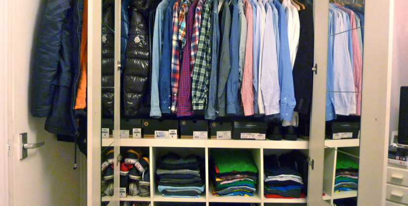 5 great tips to keep your closet under control