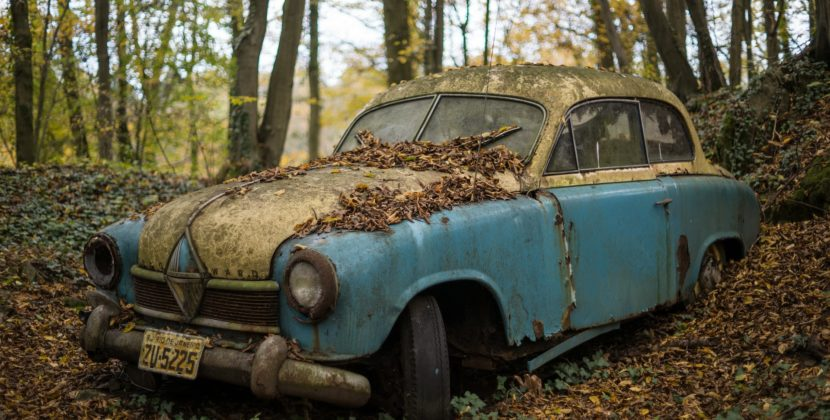 Tips on How to Deal With a Junk Car on Your Property
